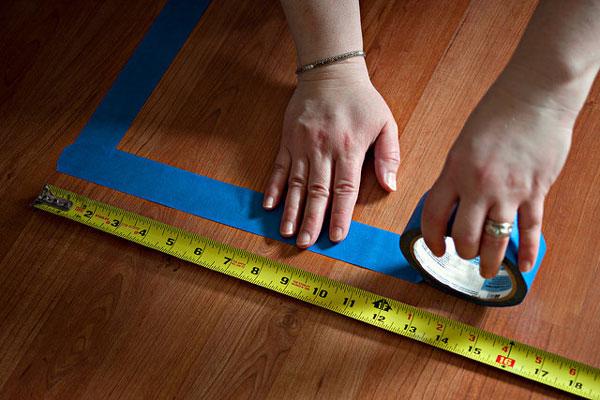 اندازه گیری کف برای خرید کفپوش