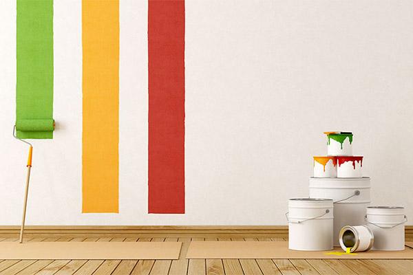 انواع رنگ های ساختمانی در دکوراسیون