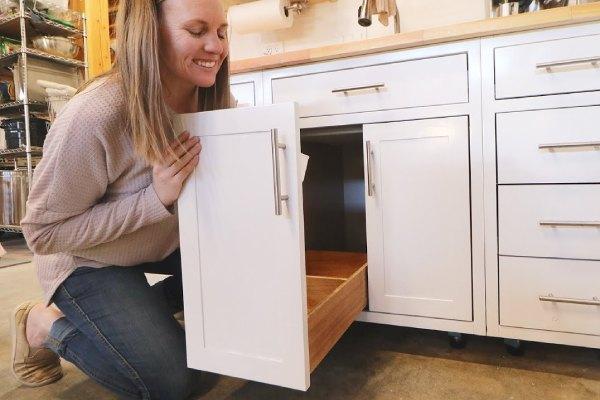انواع کشو کابینت آشپزخانه