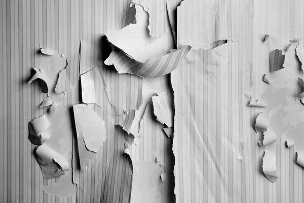 ترمیم کاغذدیواری آسیب دیده