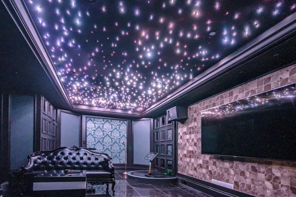 سقف کشسان فیبر نوری