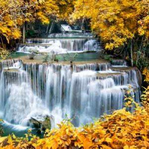 پوستر دیواری طرح آبشار