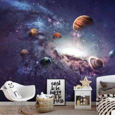 قیمت پوستر دیواری طرح سیارات