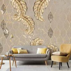 پوستر دیواری طرح نخل طلایی