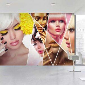 پوستر ۳ بعدی طرح آرایشگاهی