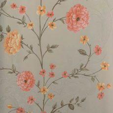 قیمت کاغذ دیواری طرح گل دار آماندا کد 713319