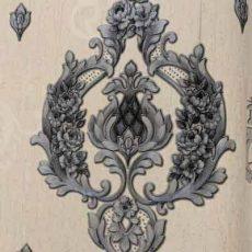 کاغذ دیواری طرح داماسک آماندا-کد-713380