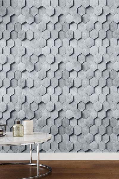 انواع کاغذ دیواری سه بعدی