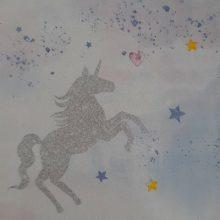 خرید کاغذ دیواری دخترانه پینکی پای کد 60301